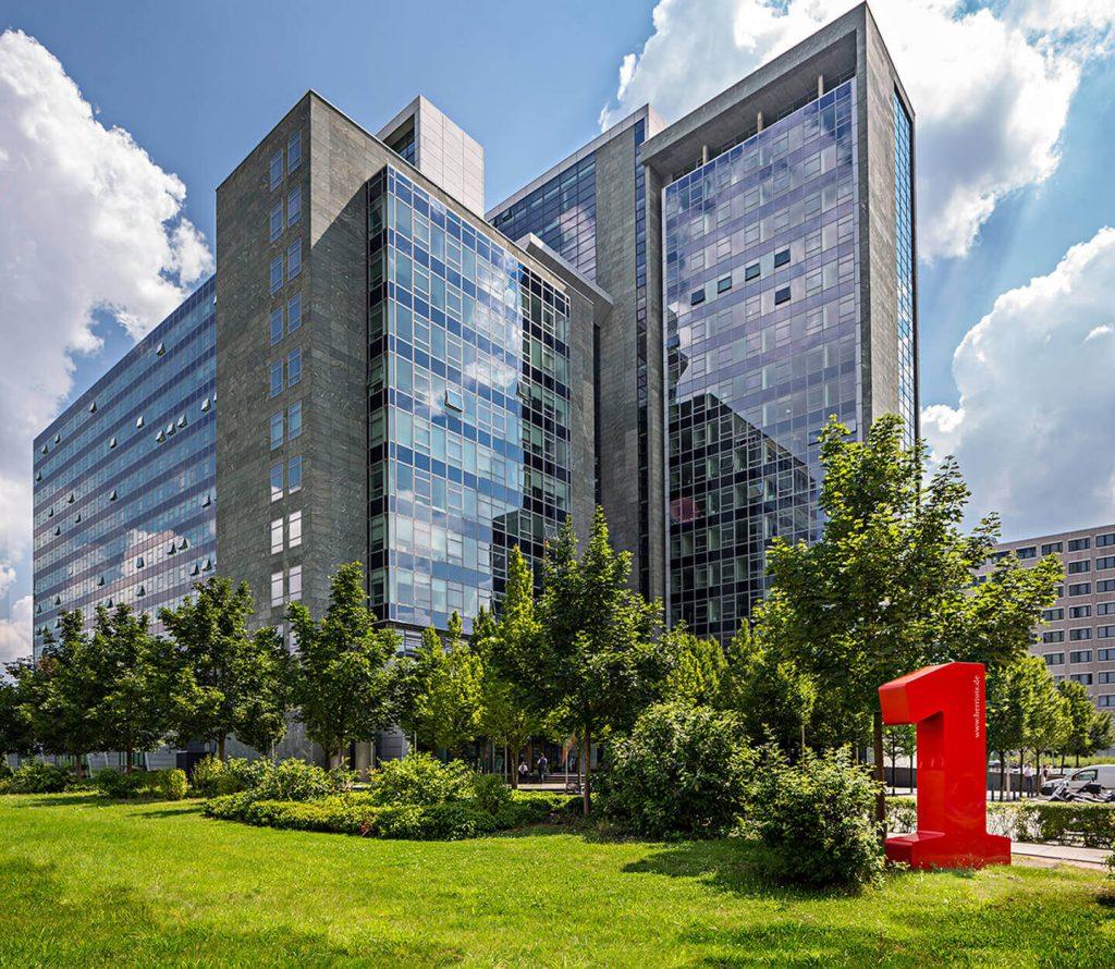 Bürogebäude Herriot´s Frankfurt - Perspektive