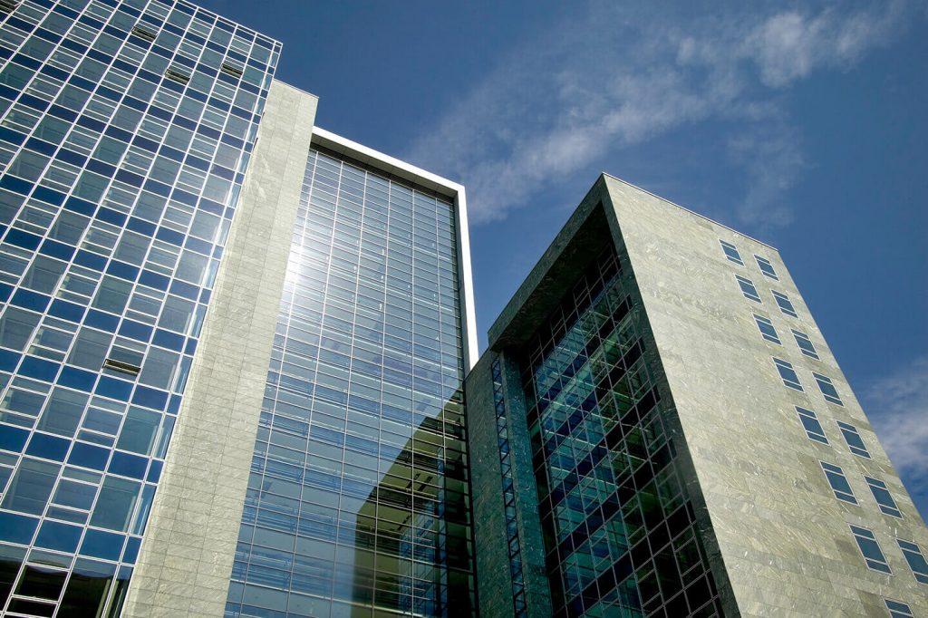 Bürogebäude Herriot´s Frankfurt - Fassade