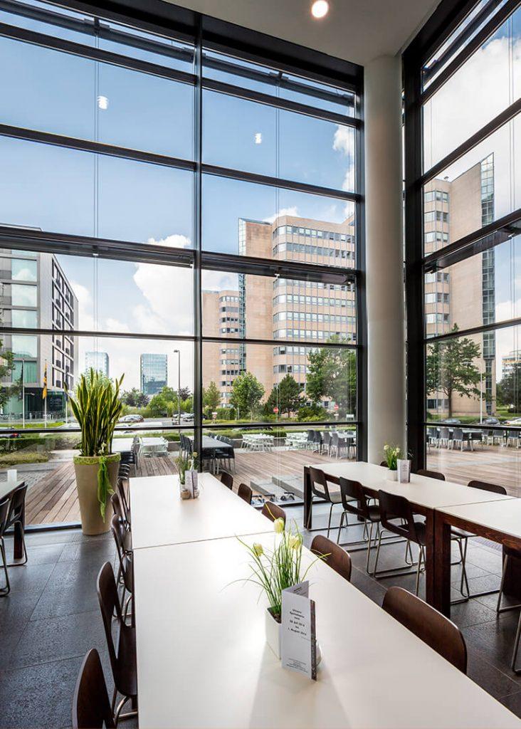 Bürogebäude Herriot´s Frankfurt - Restaurant