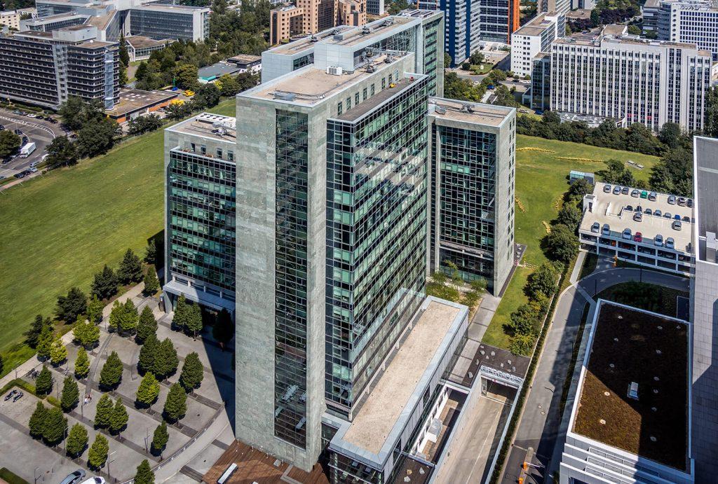 Bürogebäude Herriot´s Frankfurt - Luftbild