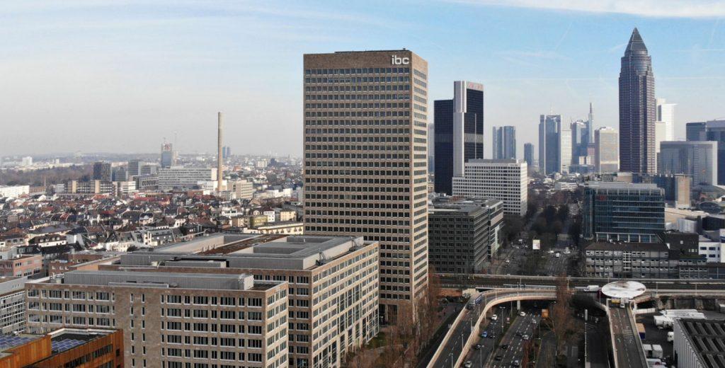 IBC Händlerzentrum Frankfurt - Perspektive