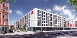 Marriott Hotel & Residence Inn München - Visualisierung