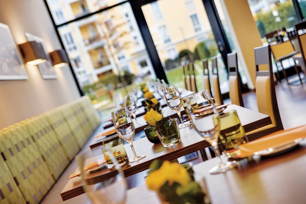 Marriott Hotel & Residence Inn München - Restaurant & Lounge