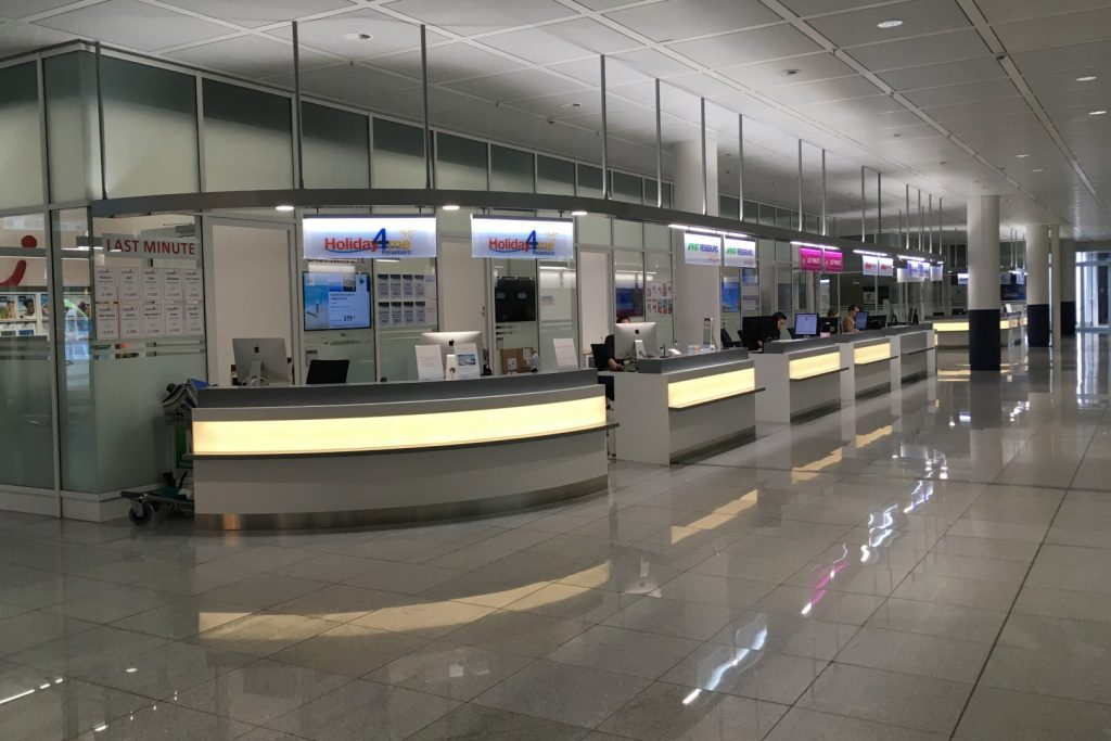 Flughafen München - Counter