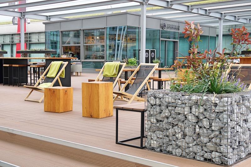 Flughafen München - Terrasse