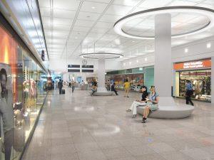Flughafen München - Innen