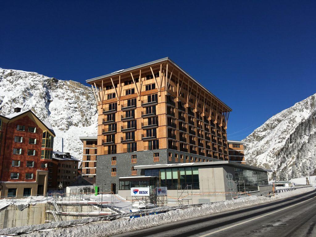 Radisson Blu Hotel Andermatt - Perspektive