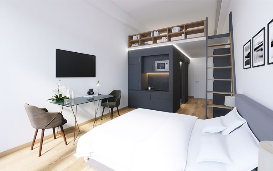 Hotel M-Suites München - Zimmer