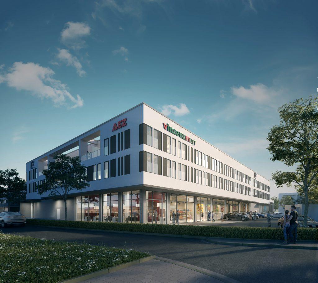 AEZ & Amper Hotel - Visualisierung