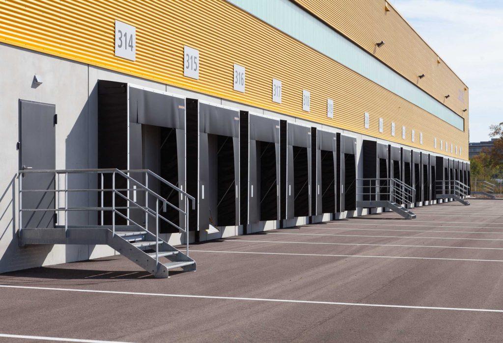 CLZ - Anlieferungsbereich