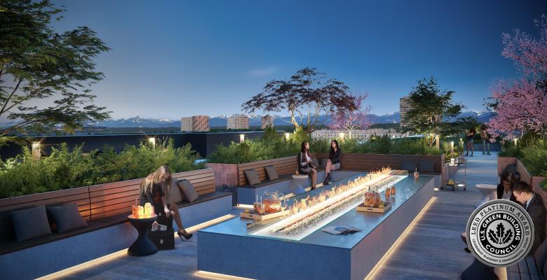 Hotel M-Suites München - Render Terrasse